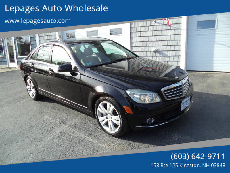 2010 Mercedes-Benz C-Class for sale at Lepages Auto Wholesale in Kingston NH