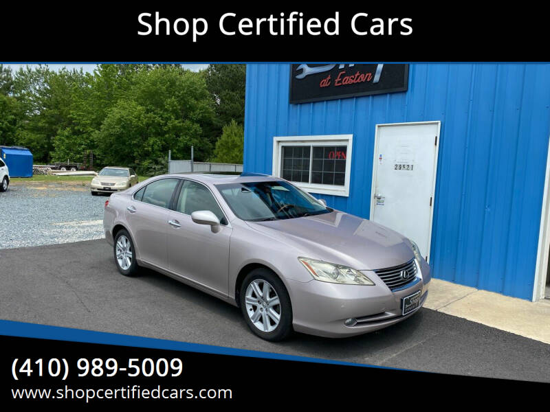 2008 Lexus ES 350 for sale at Shop Certified Cars in Easton MD