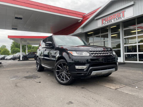 2015 Land Rover Range Rover Sport for sale at Furrst Class Cars LLC  - Independence Blvd. in Charlotte NC