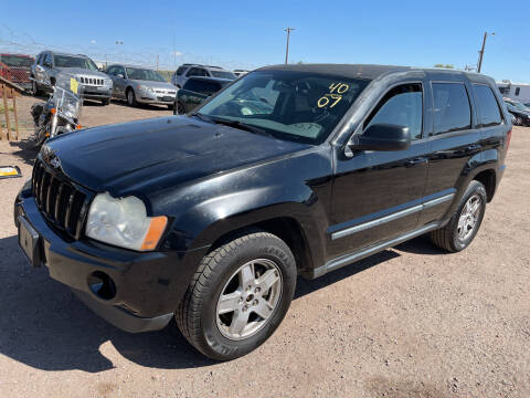 2007 Jeep Grand Cherokee for sale at PYRAMID MOTORS - Fountain Lot in Fountain CO