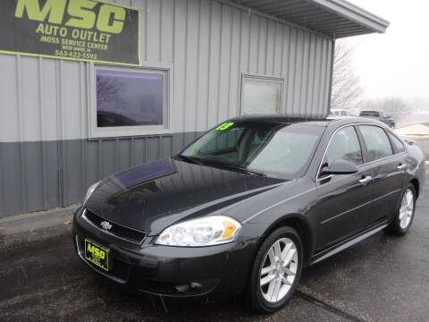2013 Chevrolet Impala for sale at Moss Service Center-MSC Auto Outlet in West Union IA