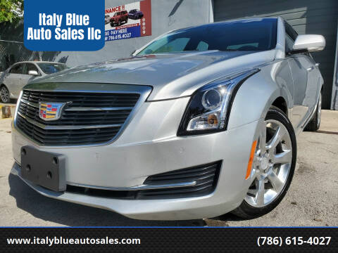 2016 Cadillac ATS for sale at Italy Blue Auto Sales llc in Miami FL
