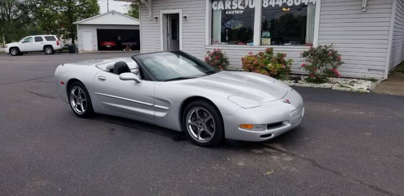2002 Chevrolet Corvette for sale at Cars 4 U in Liberty Township OH