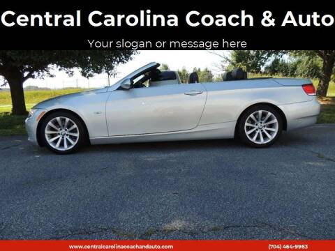 2008 BMW 3 Series for sale at Central Carolina Coach & Auto in Lenoir NC