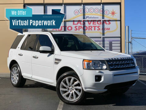 2012 Land Rover LR2 for sale at Las Vegas Auto Sports in Las Vegas NV