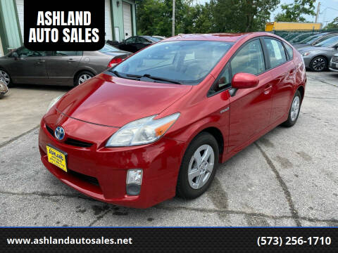2010 Toyota Prius for sale at ASHLAND AUTO SALES in Columbia MO