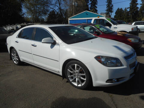 2009 Chevrolet Malibu for sale at Lino's Autos Inc in Vancouver WA