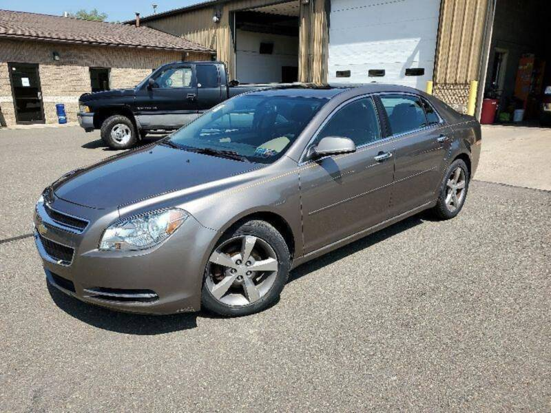 2012 Chevrolet Malibu for sale at Automotive Toy Store LLC in Mount Carmel PA