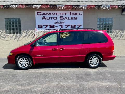1999 Dodge Grand Caravan for sale at Camvest Inc. Auto Sales in Depew NY