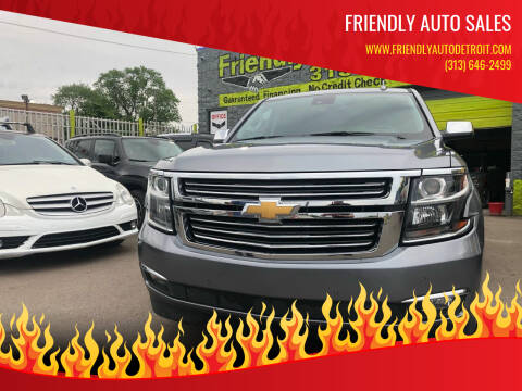 2020 Chevrolet Tahoe for sale at Friendly Auto Sales in Detroit MI