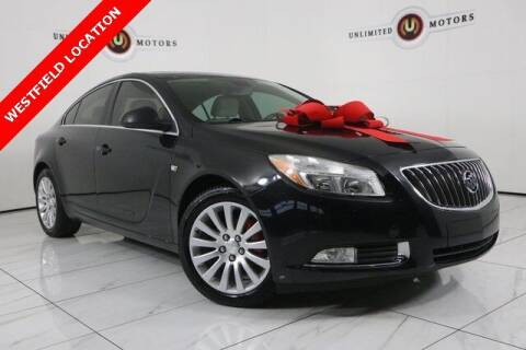 2011 Buick Regal for sale at INDY'S UNLIMITED MOTORS - UNLIMITED MOTORS in Westfield IN