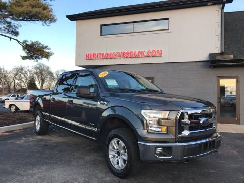 2016 Ford F-150 for sale at Heritage Automotive Sales in Columbus in Columbus IN