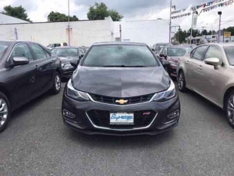2017 Chevrolet Cruze for sale at Bay Motors Inc in Baltimore MD