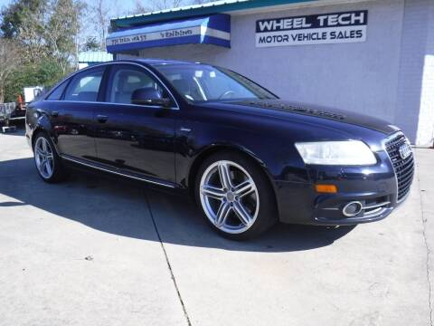 2011 Audi A6 for sale at Wheel Tech Motor Vehicle Sales in Maylene AL