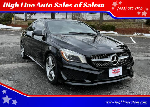 2014 Mercedes-Benz CLA for sale at High Line Auto Sales of Salem in Salem NH