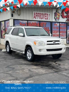 2005 Toyota Sequoia for sale at Credit Connection Auto Sales in Midwest City OK