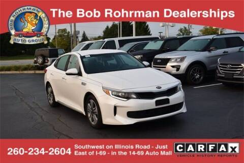 2017 Kia Optima Hybrid for sale at BOB ROHRMAN FORT WAYNE TOYOTA in Fort Wayne IN