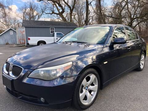 2007 BMW 5 Series for sale at Perfect Choice Auto in Trenton NJ