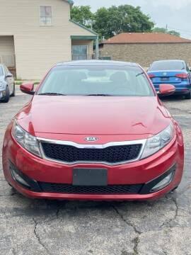 2011 Kia Optima for sale at DestanY AUTOMOTIVE in Hamilton OH