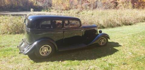 1934 Ford Tudor for sale at Classic Car Deals in Cadillac MI