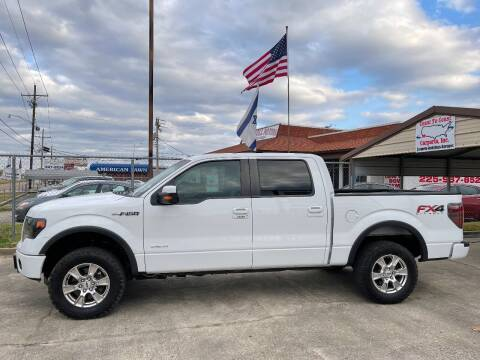 2013 Ford F-150 for sale at Rock & Roll Motors in Baton Rouge LA