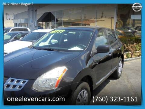 2012 Nissan Rogue for sale at One Eleven Vintage Cars in Palm Springs CA