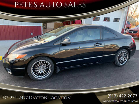 2006 Honda Civic for sale at PETE'S AUTO SALES LLC - Dayton in Dayton OH