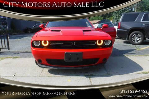 2015 Dodge Challenger for sale at City Motors Auto Sale LLC in Redford MI