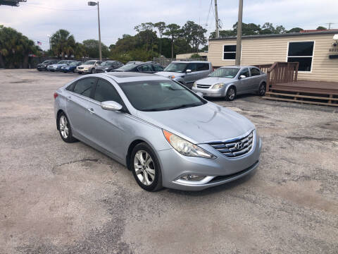 2011 Hyundai Sonata for sale at Friendly Finance Auto Sales in Port Richey FL