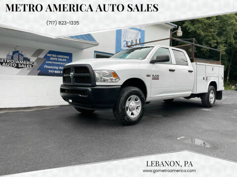 2017 RAM Ram Pickup 2500 for sale at METRO AMERICA AUTO SALES of Lebanon in Lebanon PA