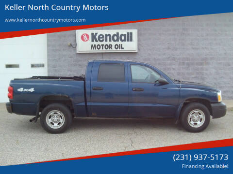 2007 Dodge Dakota for sale at Keller North Country Motors in Howard City MI