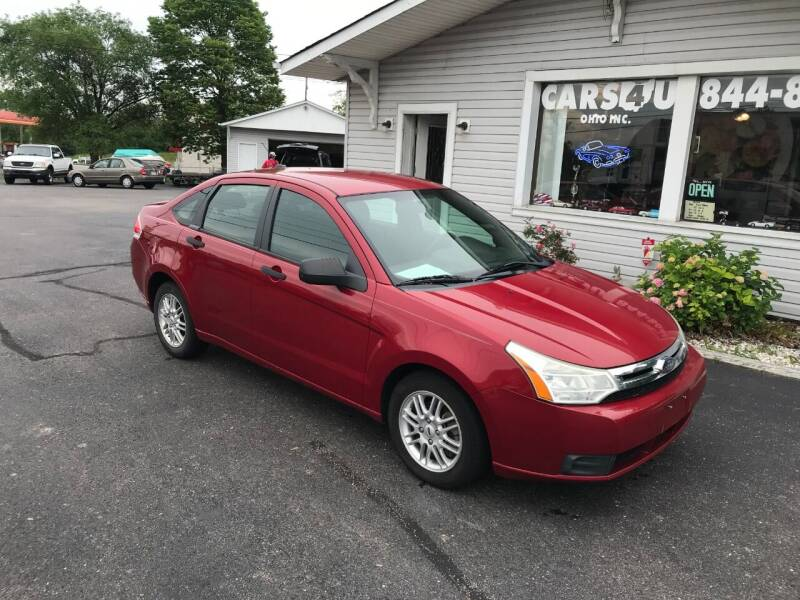 2009 Ford Focus for sale at Cars 4 U in Liberty Township OH
