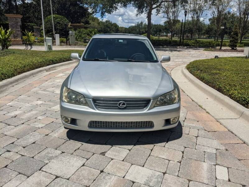 2001 Lexus IS 300 for sale at M&M and Sons Auto Sales in Lutz FL