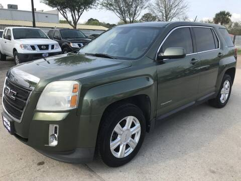 2015 GMC Terrain for sale at AMIGO USED CARS in Houston TX