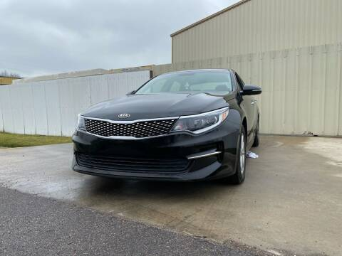 2016 Kia Optima for sale at ALL STAR MOTORS INC in Houston TX
