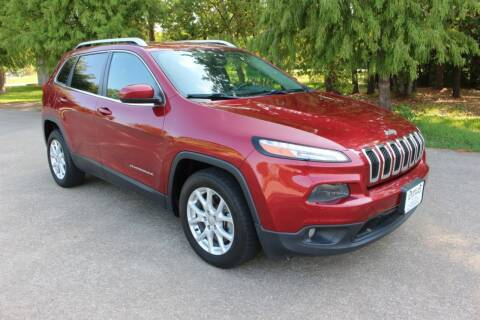 2014 Jeep Cherokee for sale at Clear Lake Auto World in League City TX