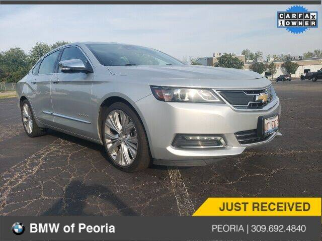 2017 Chevrolet Impala for sale at BMW of Peoria in Peoria IL