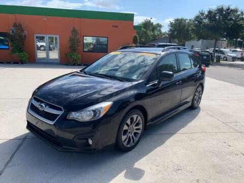 2013 Subaru Impreza for sale at Galaxy Auto Service, Inc. in Orlando FL