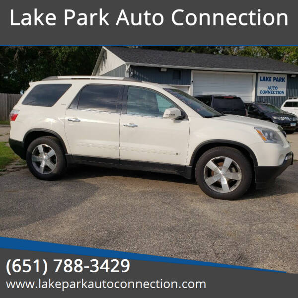 2010 GMC Acadia for sale at Lake Park Auto Connection in Lake Park MN