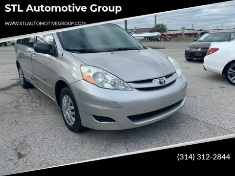 2006 Toyota Sienna for sale at STL Automotive Group in O'Fallon MO