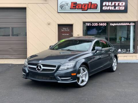 2014 Mercedes-Benz CLS for sale at Eagle Auto Sales LLC in Holbrook MA