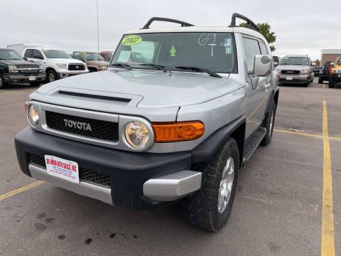 2007 Toyota FJ Cruiser for sale at De Anda Auto Sales in South Sioux City NE