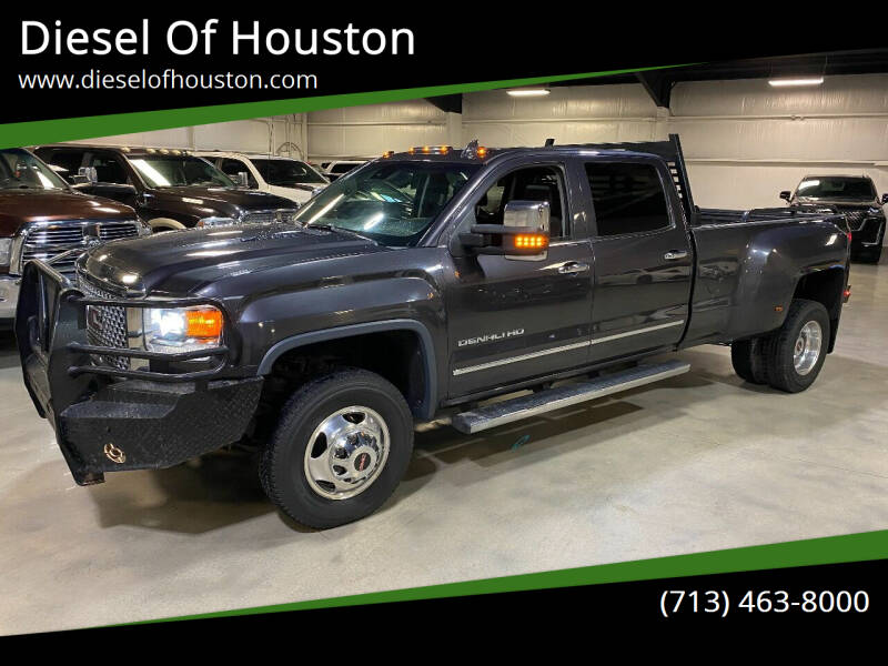 2016 GMC Sierra 3500HD for sale at Diesel Of Houston in Houston TX