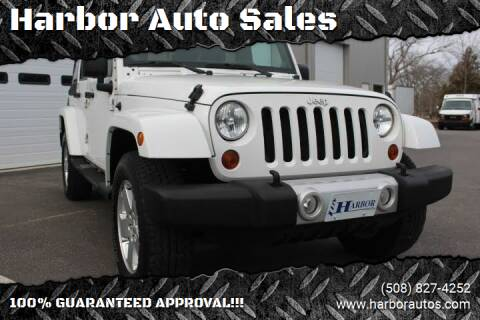 2012 Jeep Wrangler Unlimited for sale at Harbor Auto Sales in Hyannis MA