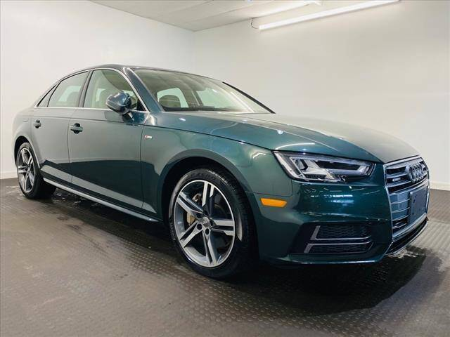 2018 Audi A4 for sale at Champagne Motor Car Company in Willimantic CT