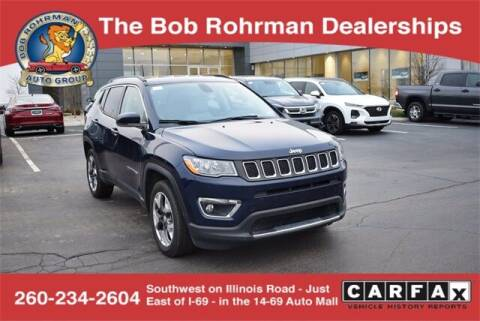 2020 Jeep Compass for sale at BOB ROHRMAN FORT WAYNE TOYOTA in Fort Wayne IN