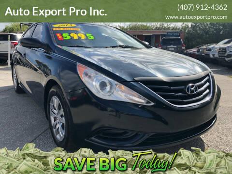 2013 Hyundai Sonata for sale at Auto Export Pro Inc. in Orlando FL