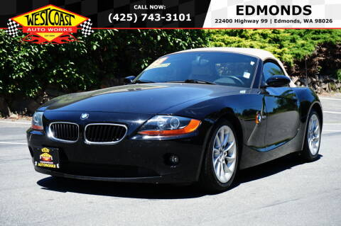 2003 BMW Z4 for sale at West Coast Auto Works in Edmonds WA