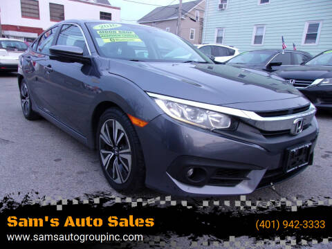 2016 Honda Civic for sale at Sam's Auto Sales in Cranston RI