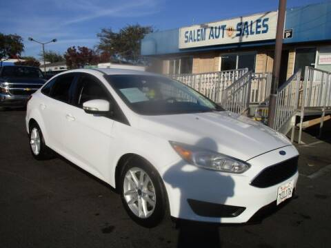 2017 Ford Focus for sale at Salem Auto Sales in Sacramento CA